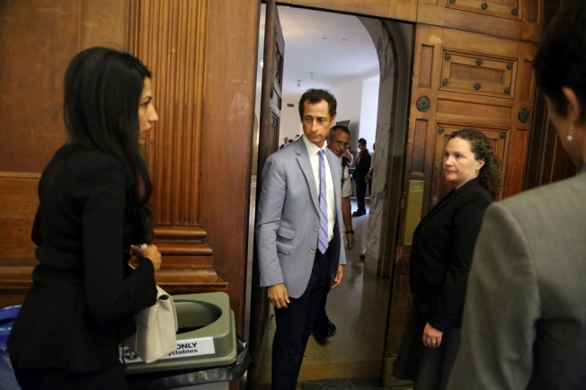 Anthony Weiner, Huma Abedin Appear Before NYC Judge Handling Divorce Case