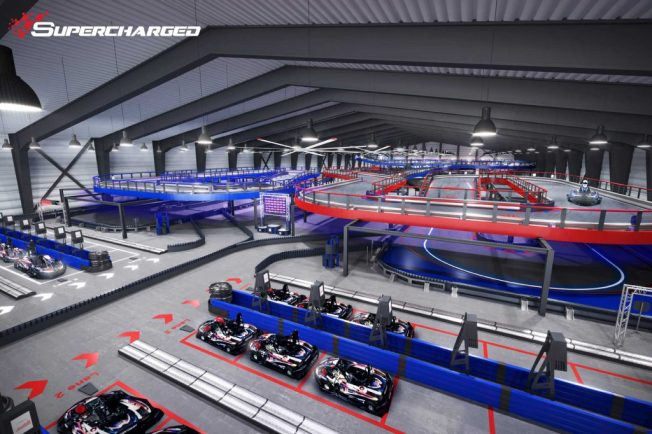 This Enormous Go-Kart Track Just Opened In Wrentham