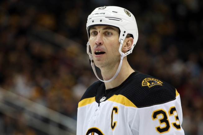 Chara Suffers Ankle Injury During Game 1