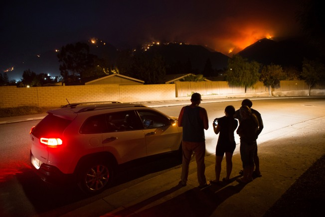 [UPDATED 8/13] PHOTOS: The Holy Fire as Seen From Around Southern California