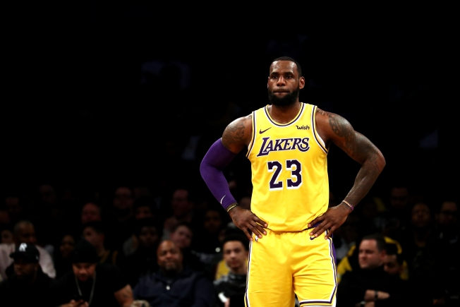 LeBron James Is AP Male Athlete of the Year for 3rd Time