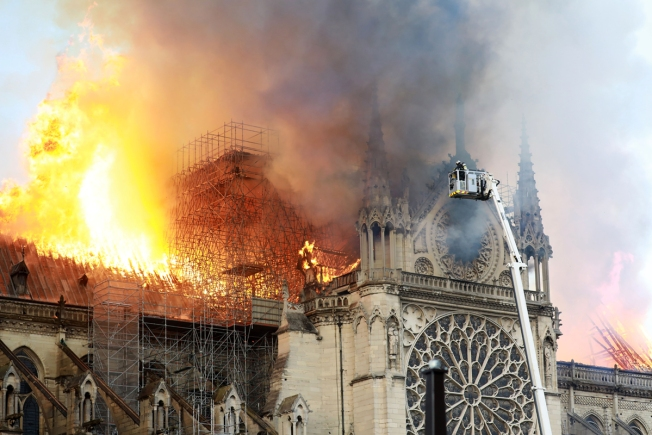 Notre Dame's Age, Design Fueled Fire and Foiled Firefighters