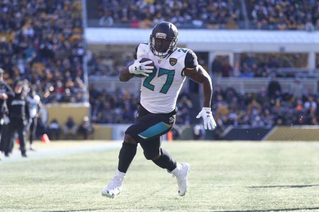 Jags RB Leonard Fournette uninjured in three-car accident