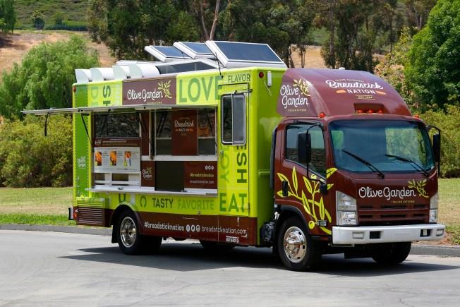 North End Restaurants Lash Out Against Olive Garden Food Truck
