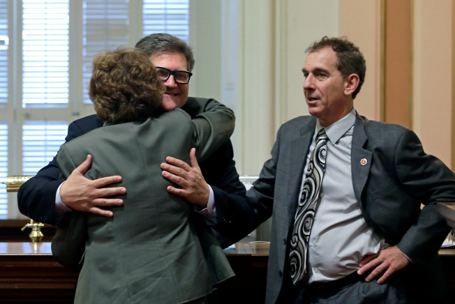 Calif. Lawmaker Dubbed 'Huggy Bear' Told to Stop Hugging People