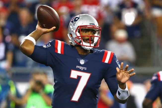 Pats deal Brissett to Colts for WR Dorsett