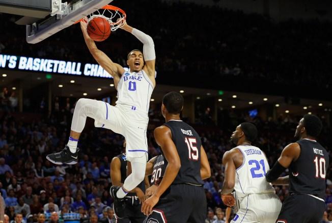 Celtics pick Duke's Jayson Tatum at No. 3