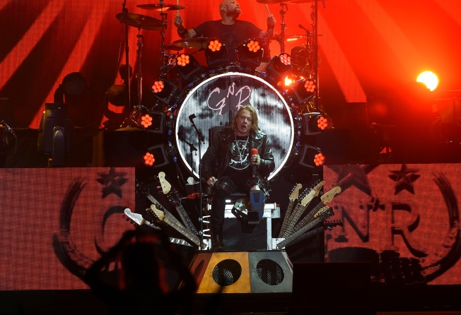 Guns N' Roses Adds Additional Massachusetts Tour Date