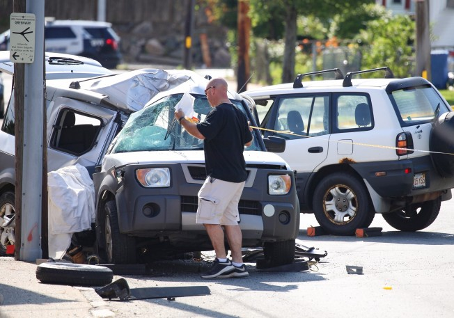 1 Person Dead, 2 Others Hurt in 2-Vehicle Crash in Waltham