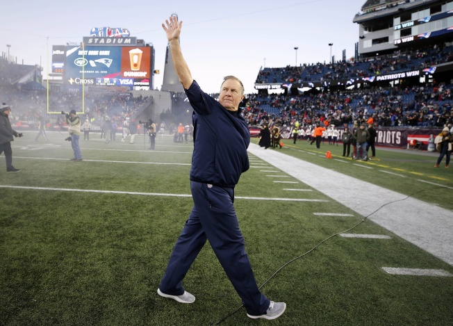 Here's What Bill Belichick Told Patriots After AFC East Clinching Win