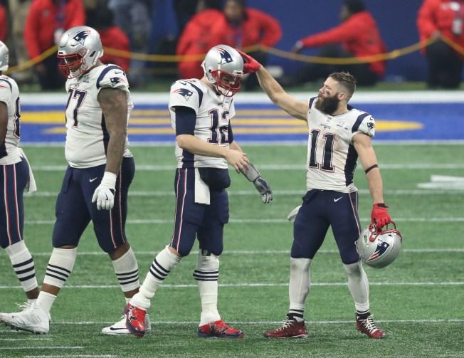 Patriots QB Tom Brady Pokes Fun at Julian Edelman With Instagram Comment