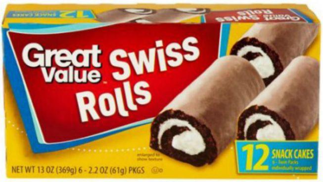 Swiss Rolls Recalled Over Salmonella Concerns