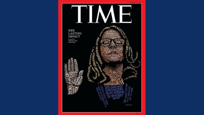 San Francisco Area Artist Creates TIME Cover Featuring Ford Testifying Against Kavanaugh