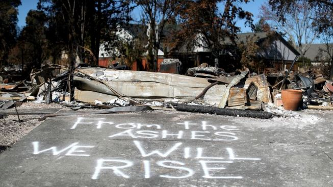 Full Recovery From North Bay Wildfires May Take Years