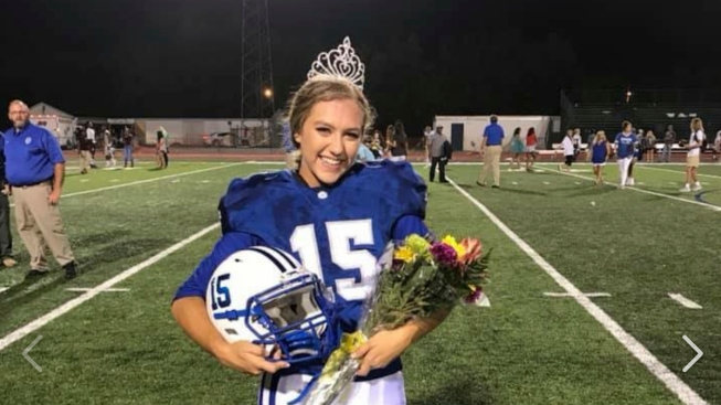 Mississippi Homecoming Queen Kicks Game-Winning Extra Point