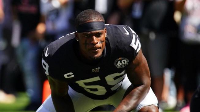 NFL Suspends Raiders' Vontaze Burfict for Rest of Season