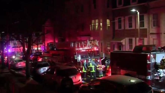2 Alarm House Fire In East Boston
