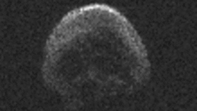 Skull-Shaped 'Death Comet' Asteroid Will Fly by Earth After Halloween