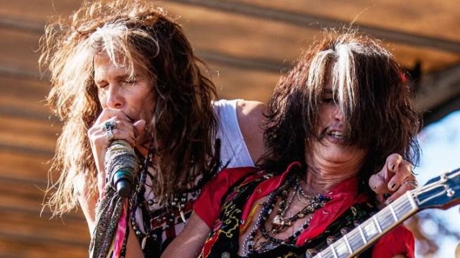 Aerosmith Is Saying 'Aero-Vederci Baby!'