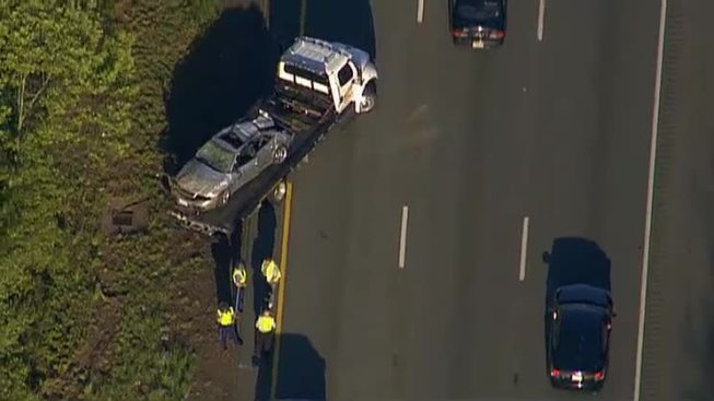 Passenger Ejected, Driver Also Seriously Hurt in Crash