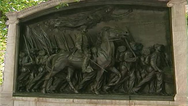 Confederate Flag Hung From Memorial Honoring Black Civil War Soldiers