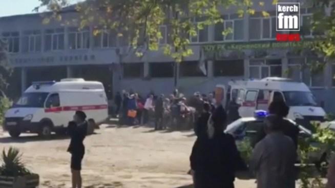 Student Gunman Kills 19 at Crimea College, Russian Official Says