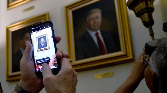 Trump Portrait Adorns Colorado Capitol After Putin Prank