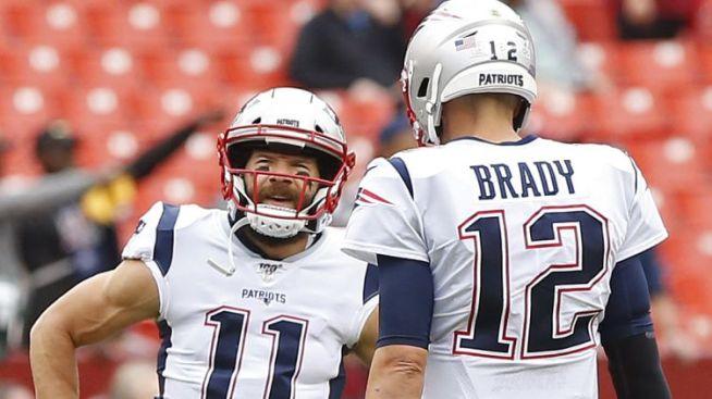 Julian Edelman Posts Awesome Tom Brady 'Top Gun' Movie Poster After Win Vs. Jets