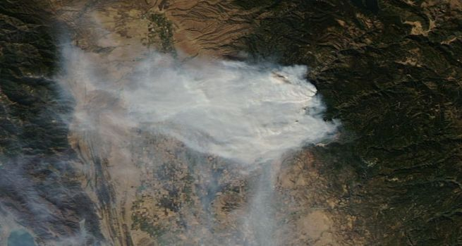 [NATL-LA GALLERY UPDATED 11/14] Smoke and Fire From Space: Wildfire Images From NASA Satellites