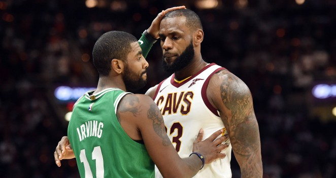 Kyrie Called LeBron to Apologize, Ask for Leadership Tips