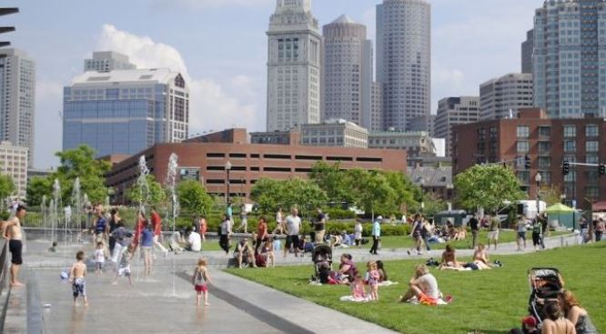 Getting to Know the New Rose Kennedy Greenway