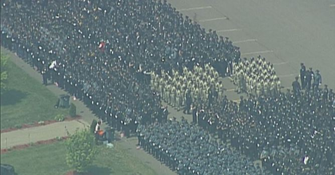 Officer Ronald Tarentino Jr. Laid to Rest