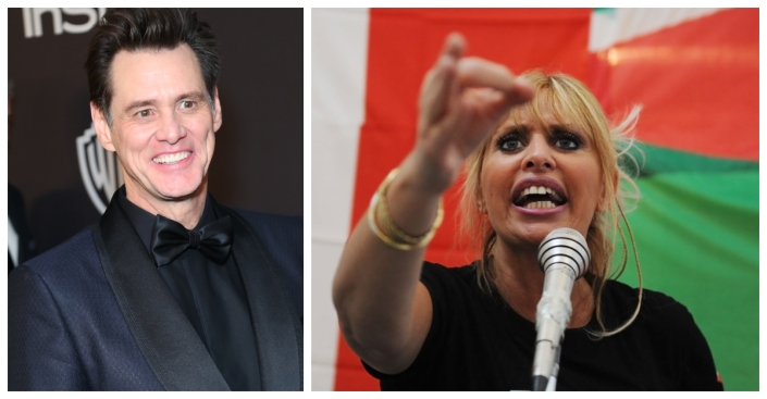 'You Are a Bastard': Jim Carrey's Picture of Mussolini's Demise Sparks Twitter Tirade From Dictator's Granddaughter