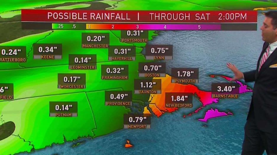 Cape Cod, Islands Under Tropical Storm Warning